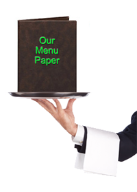 Paper for Hotels & Restaurants