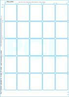 Thumbnail of White uncoated matt permanent  finish paper/ White Kraft backing