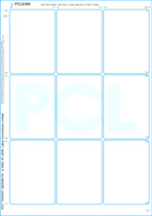 Thumbnail of White uncoated matt permanent  finish paper/ White Kraft backing