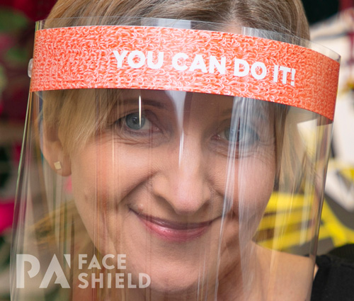 An image of 'You can do it' Protective Face Shield