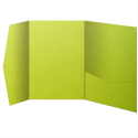 See a larger version of this thumbnail of So...Silk Shocking Green PocketFolds